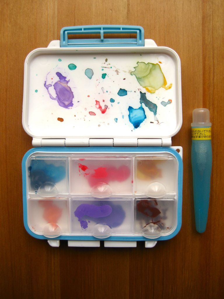 Makeshift Palette Watercolor Kit Pochade Box Palette