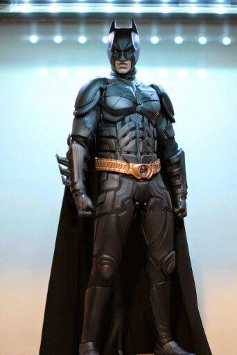 "Custom Black 1:6th Scale Cape Cloak Model For 12/"" Hottoys HT Batman DX12 Figure"