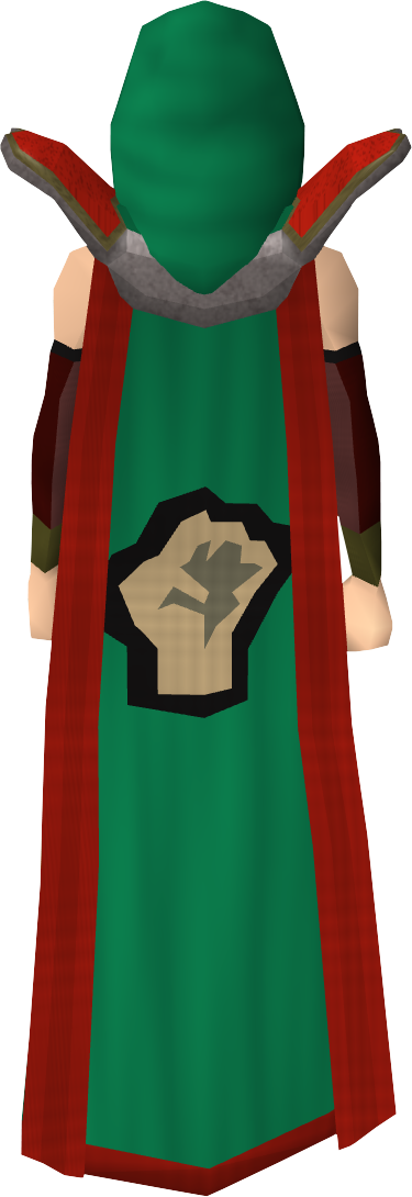 Strength Cape T Equipped Png Cape Accomplishment Strength