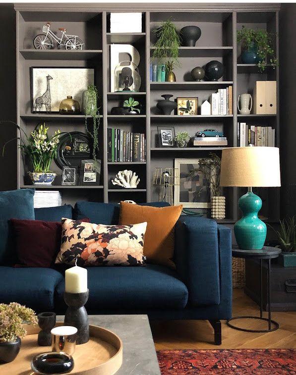 photo  google photos  living room grey ikea nockeby