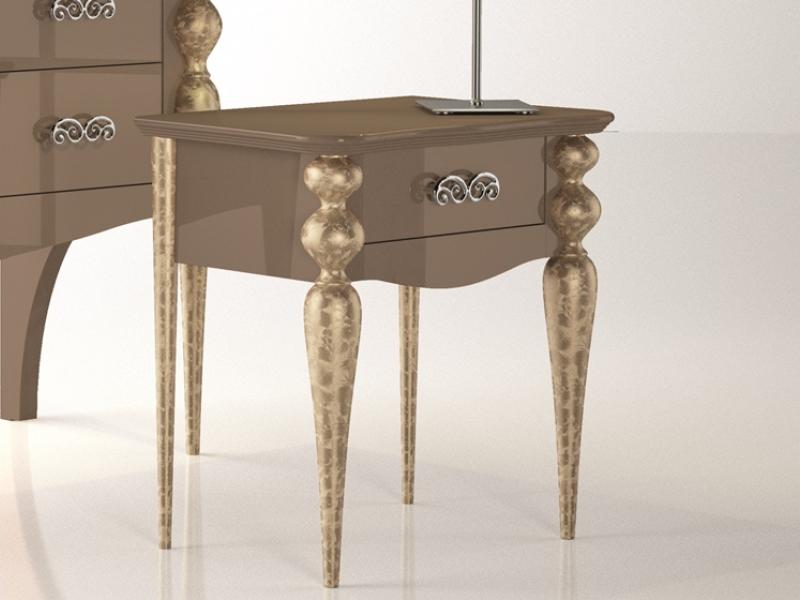 Tables De Chevet A 1 Tiroir Mod Pa9601 Table De Chevet Mobilier De Salon Tiroir
