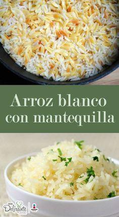Transforma El Arroz Blanco Tradicional Con Mantequilla