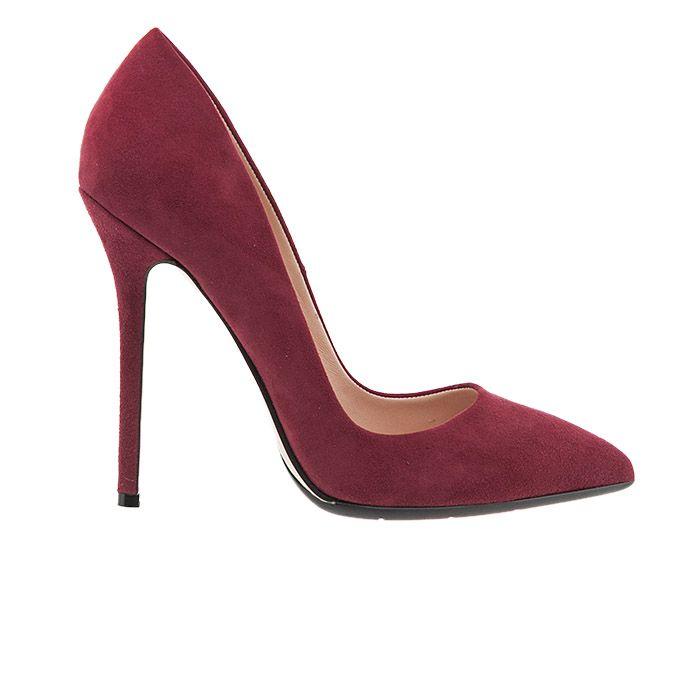 100483-BLACK SUEDE www.mourtzi.com #Mourtzi #heels #pumps
