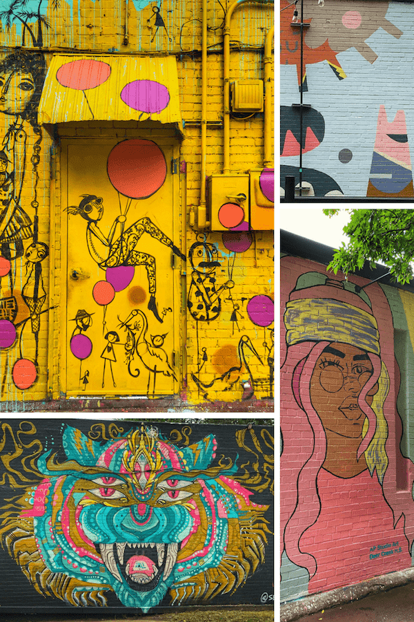 In Search of Food and Art Murals in Oklahoma City - Our guide to the best OKC murals and nearby local eateries to explore #okc #seeokc #artmurals