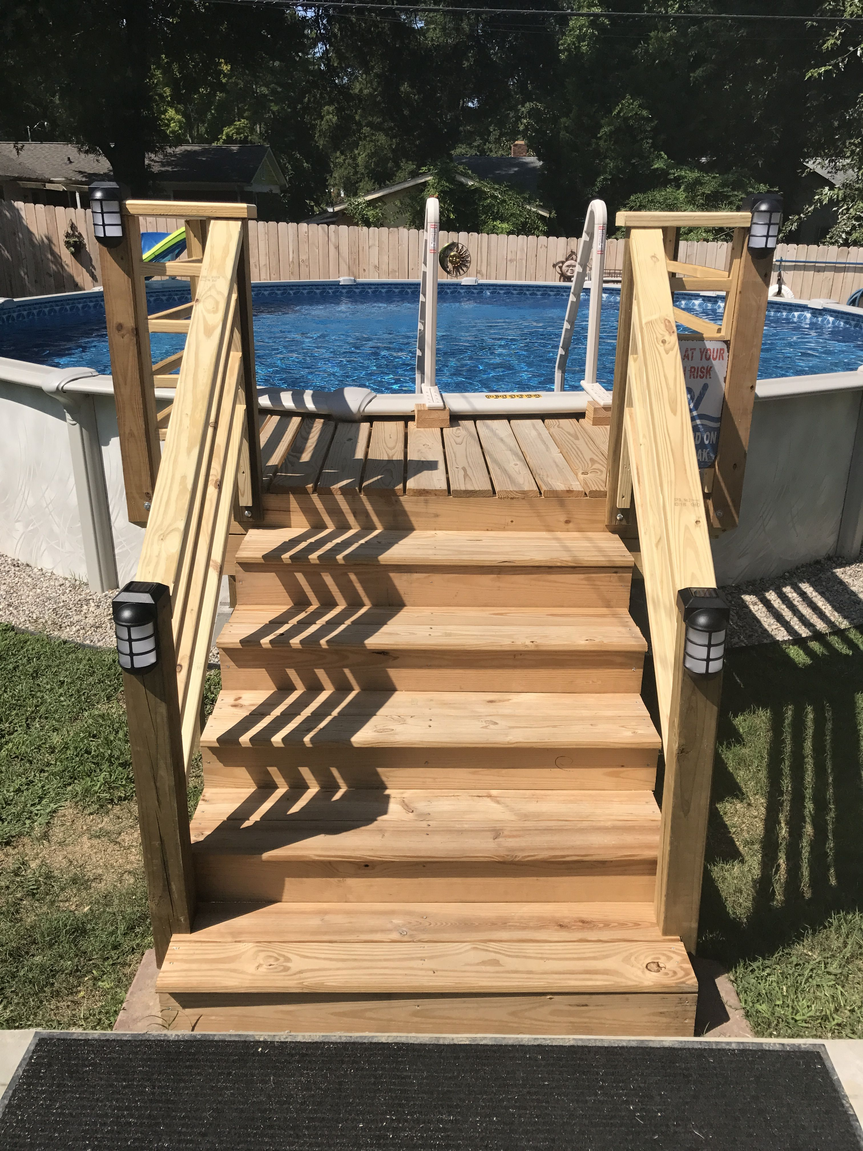 Above ground pool steps above ground pool steps pool