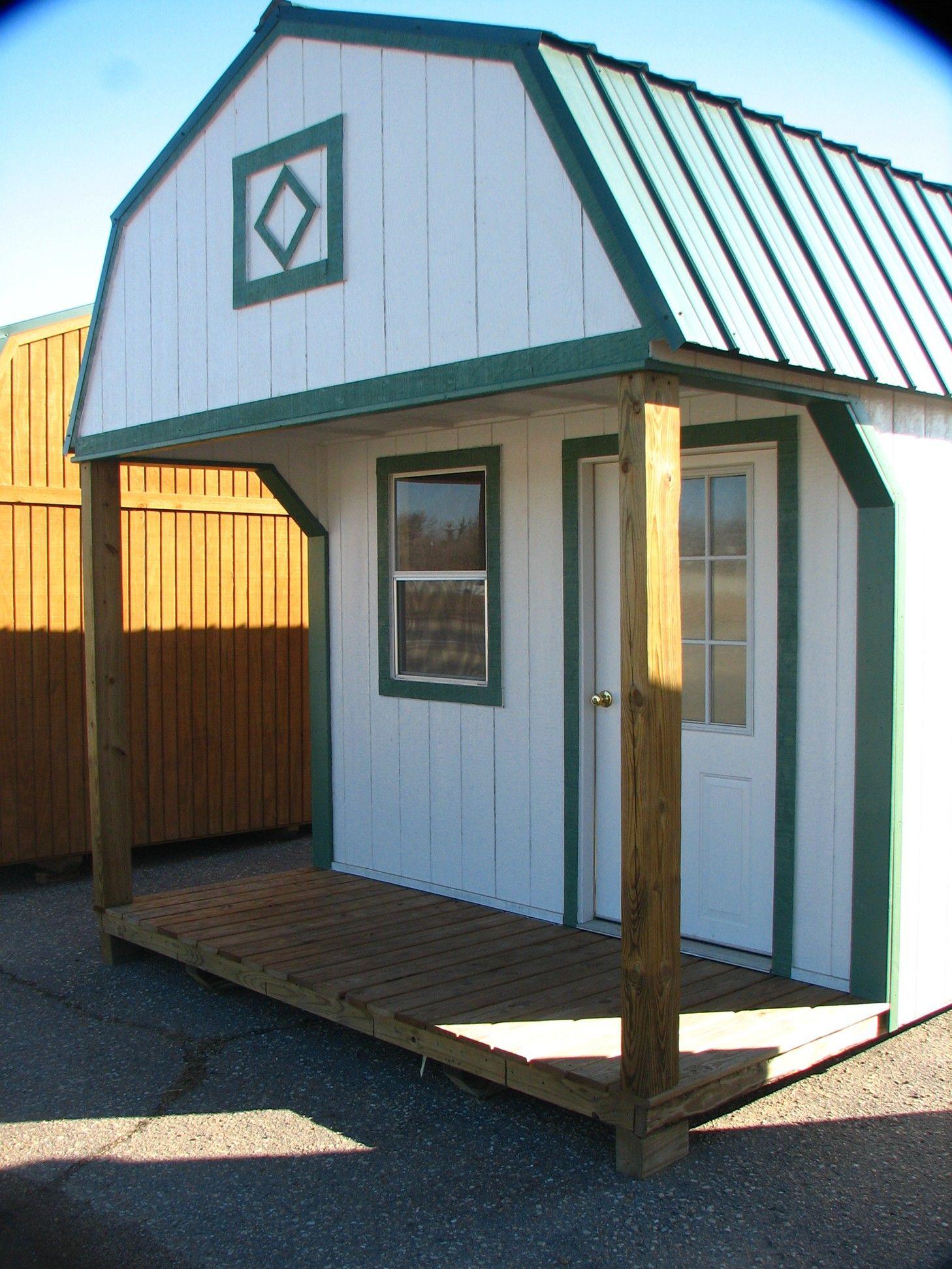 Better Built Portable Buildings Porch Storage Portable Storage Buildings Shed With Loft
