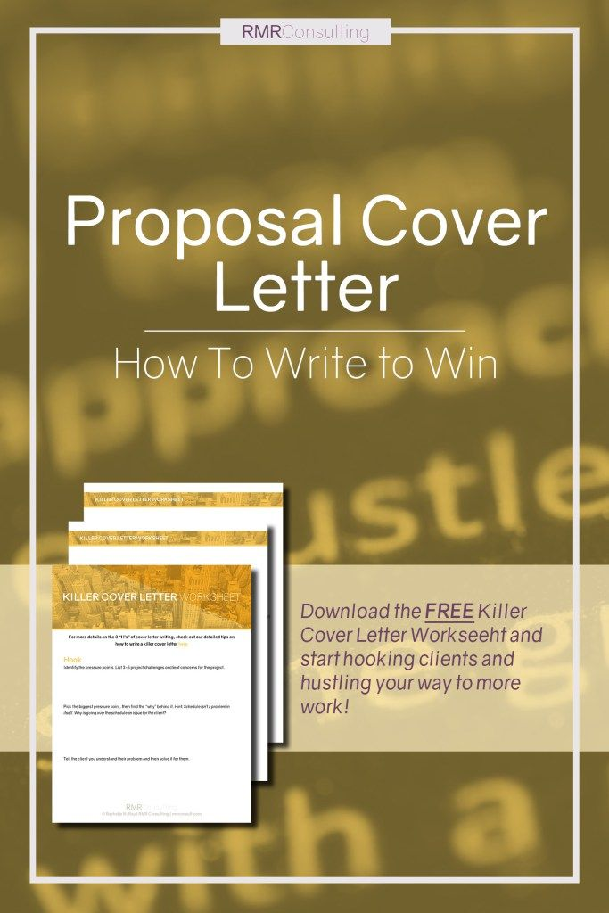 Pin by Rachelle Ray, of RMR Consulting AEC Proposal Writing and - how to write a business proposal cover letter