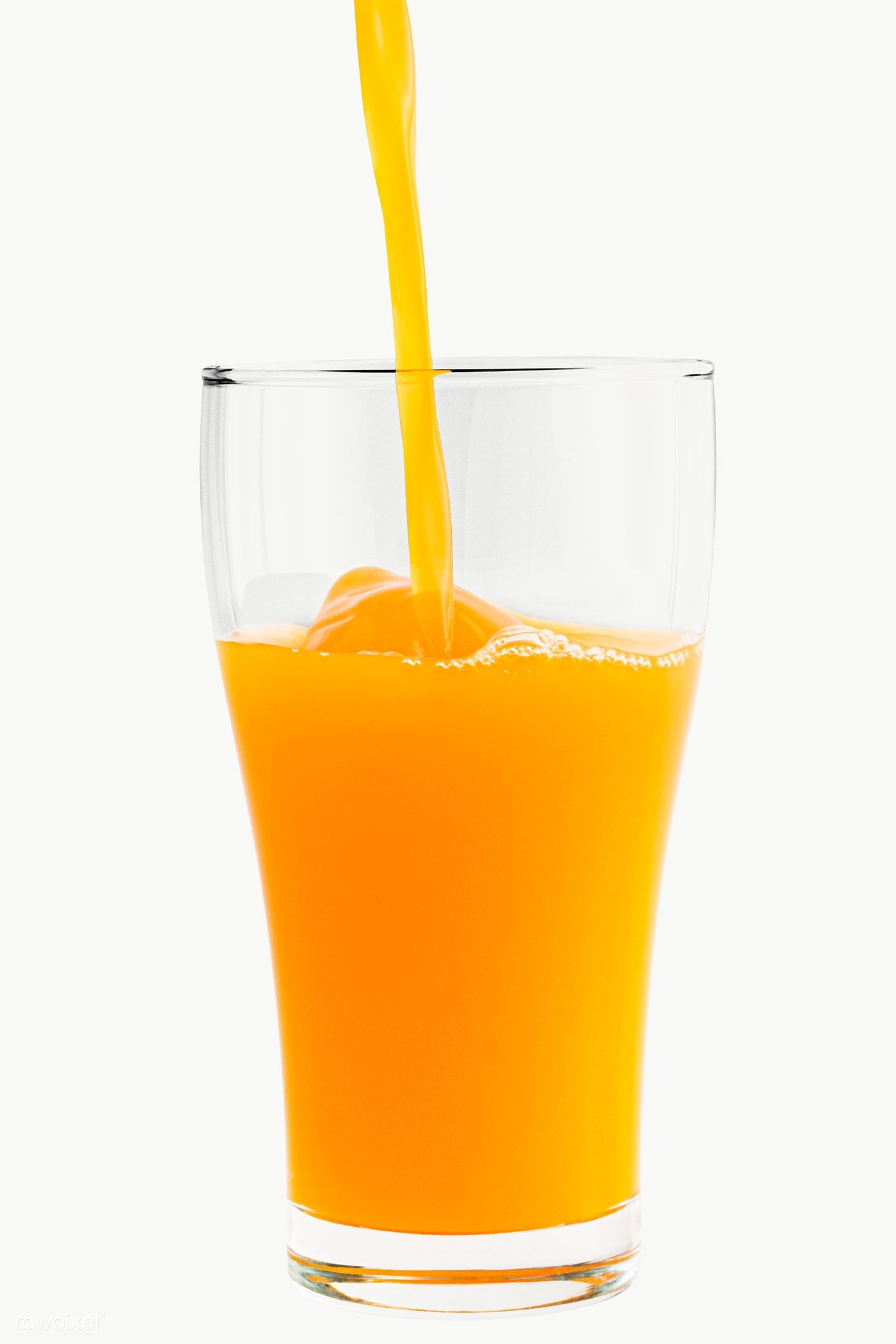 Download Premium Png Of Pouring Fresh Organic Orange Juice To A Glass