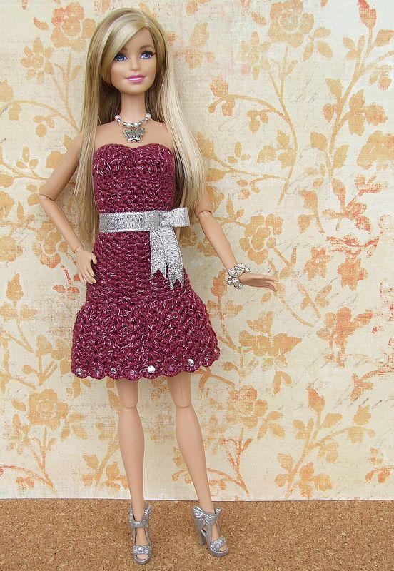 M11 R75 Rivista Uncinetto Bambole Bo 12 Barbie Bambole E Abiti