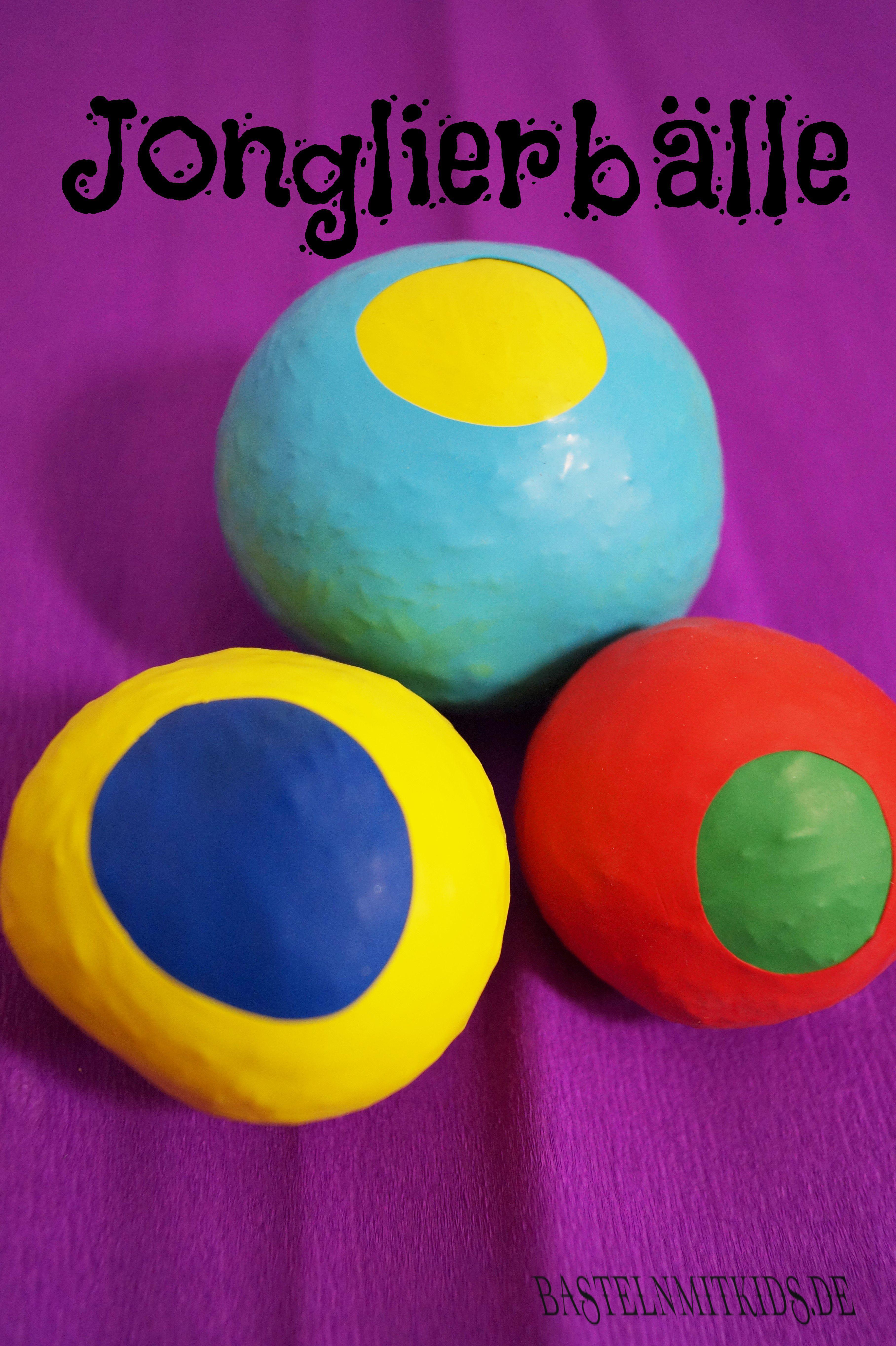 jonglierb lle selber machen basteln mit kindern selber. Black Bedroom Furniture Sets. Home Design Ideas