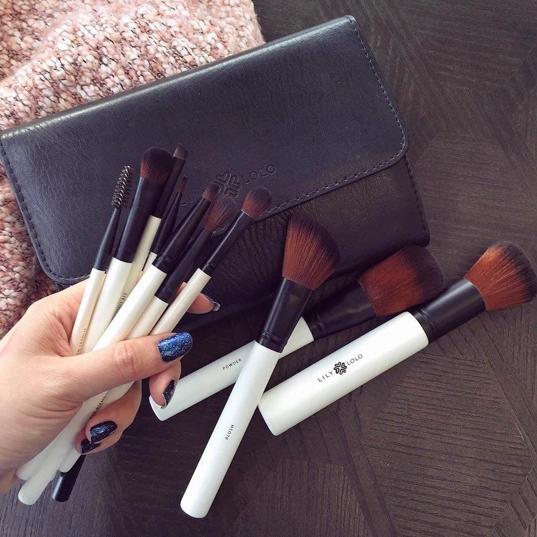 Veganfriendly, luxurious makeup brushes from Lily Lolo