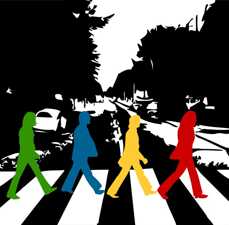 Abbey Road Color to your life by lichtstadt on DeviantArt
