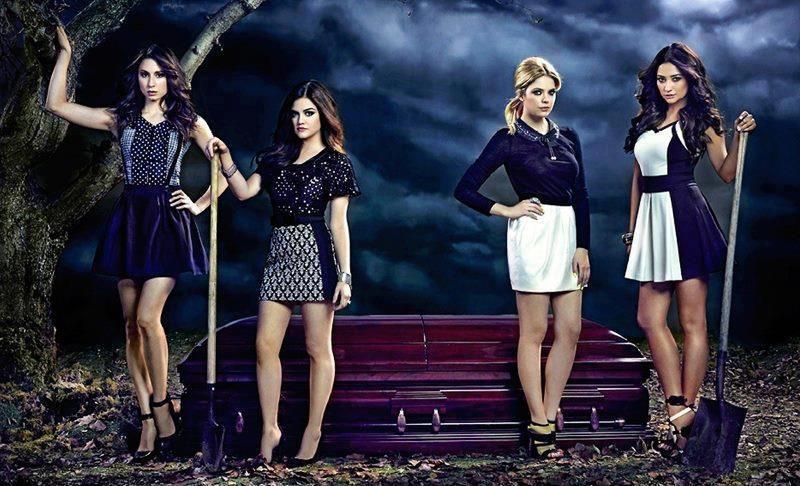 Aria + Spencer + Emily + Hanna