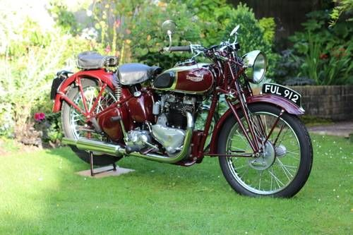 Triumph Speed Twin Excellent Condition For Sale 1939 Wish List