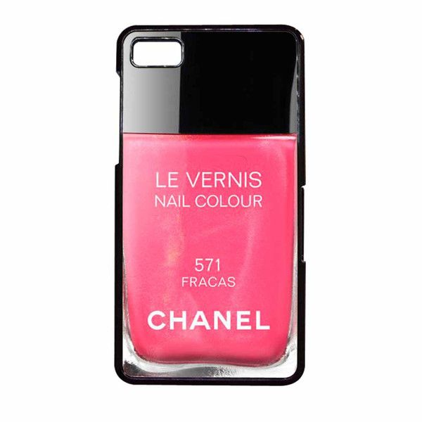 """Chanel Nail Fracas Le Vernism BlackBerry Z10 Case"""