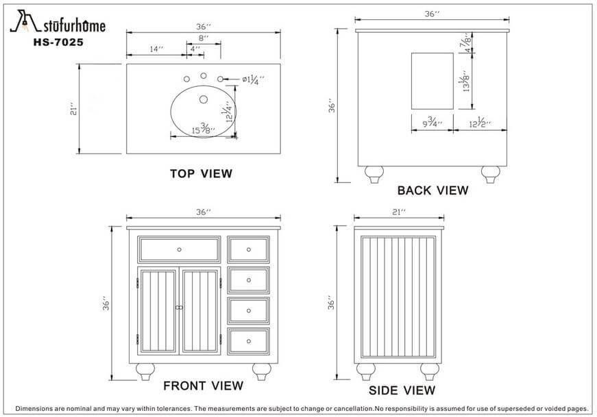 Standard Bathroom Vanity Cabinet Height Bathroom Vanity Sizes