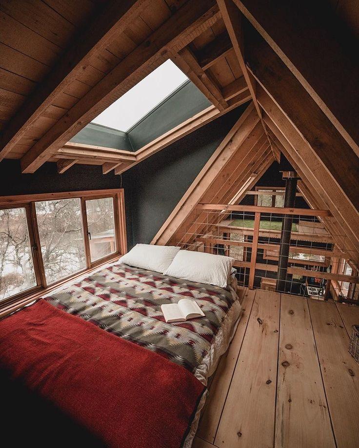 Modern Bonus Room Ideas Large Onabudget Rustic Cozy Attic Upstairs A Frame House Tiny House Design House Design