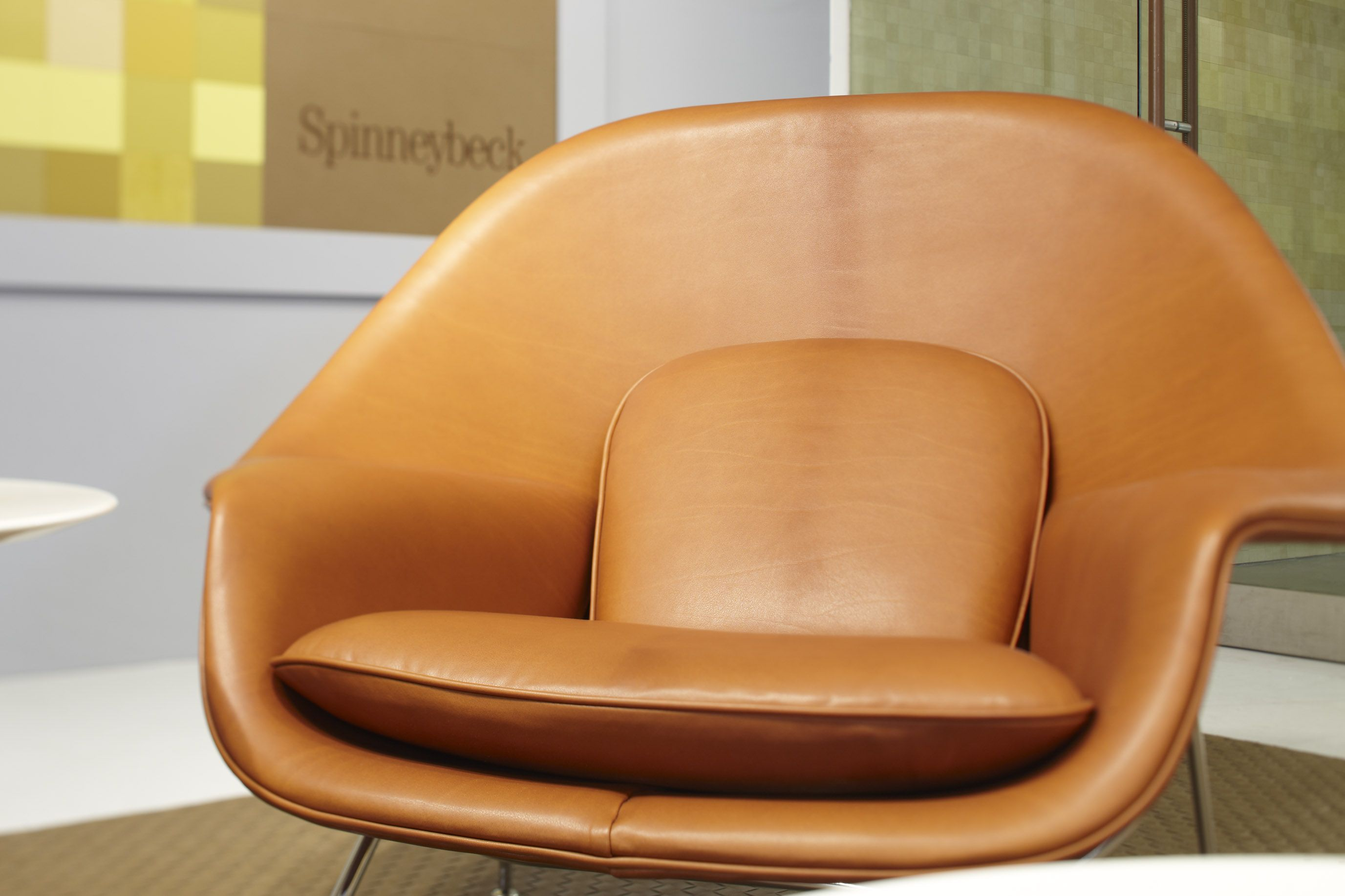 Saarinen Womb Chair  Knoll  Knoll for Home  Womb chair