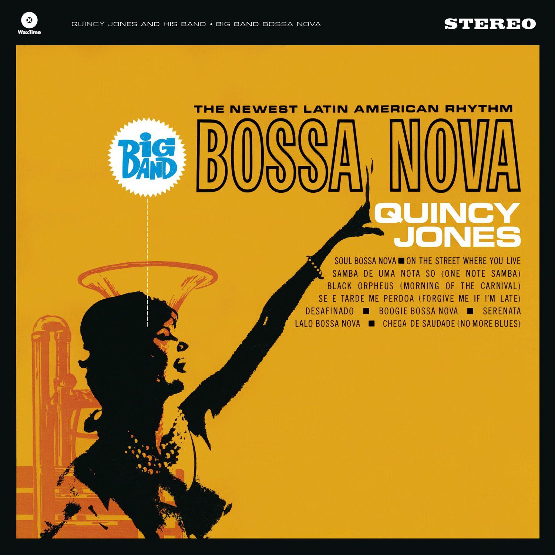 Big Band Bossa Nova + 1 Bonus Track - 180 Gram | Bossa nova, Quincy jones, Big band