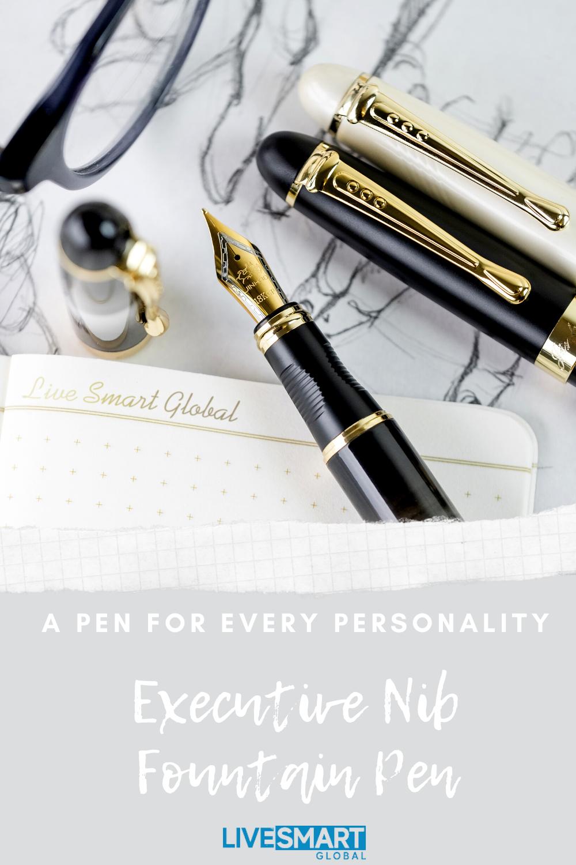 Executive Nib Fountain Pen Beautiful Pen Design Pen Fountain Pen