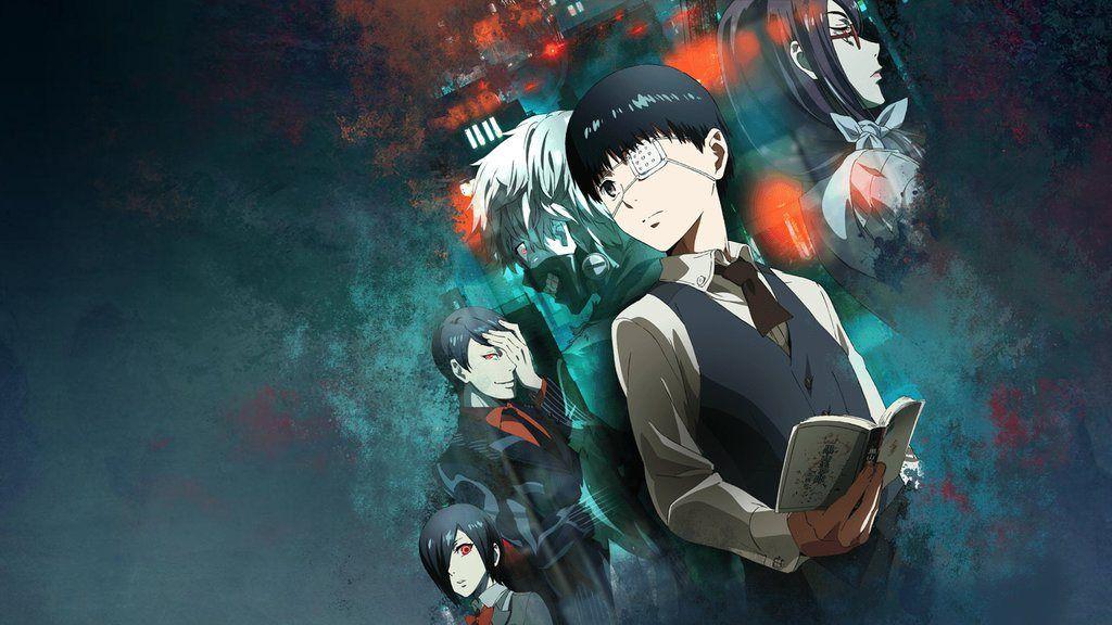 Tokyo Ghoul 1 12 720p Dual Audio 60mb Mkv Animeaak Wallpapers Hd Anime Papel De Parede Anime Tokyo Ghoul