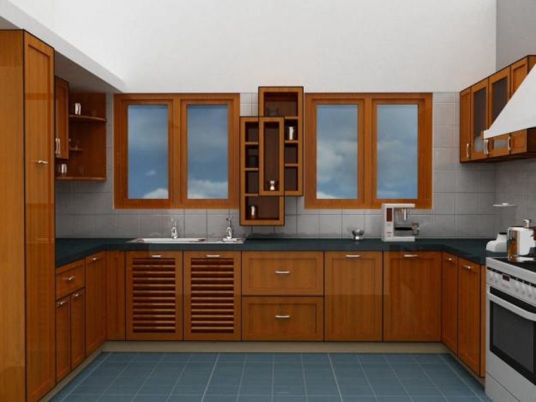 small modular kitchen cost in india with kitchen island sink plumbing with kitchen cabinets on kitchen island ideas india id=66243