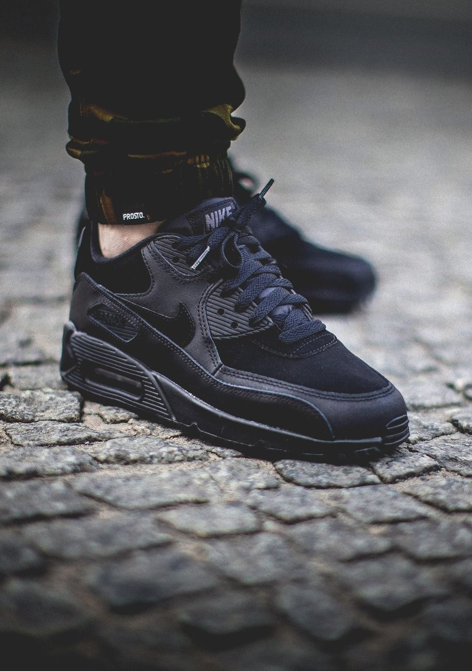 Nike Air Max 90  All Black  via WorldBox Buy it  c4a74d45fdf0a