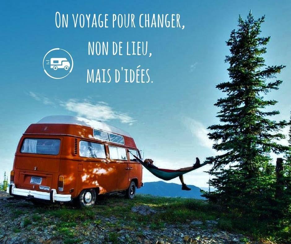 On voyage pour changer, non de lieu, mais du0027idées