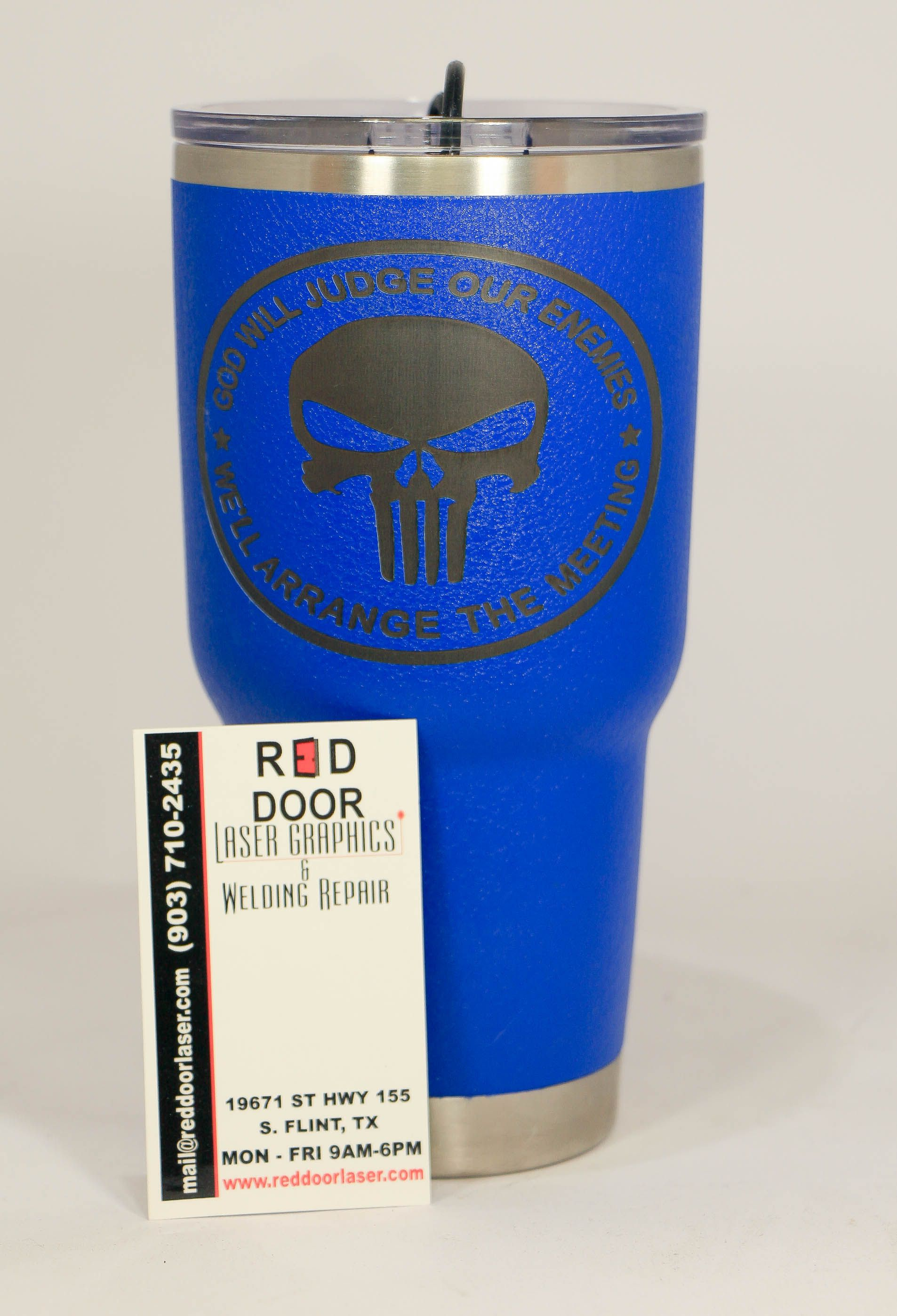 8c37a2cd49b Pin by Red Door Laser Graphics on Powder Coated or Engraved Tumblers ...
