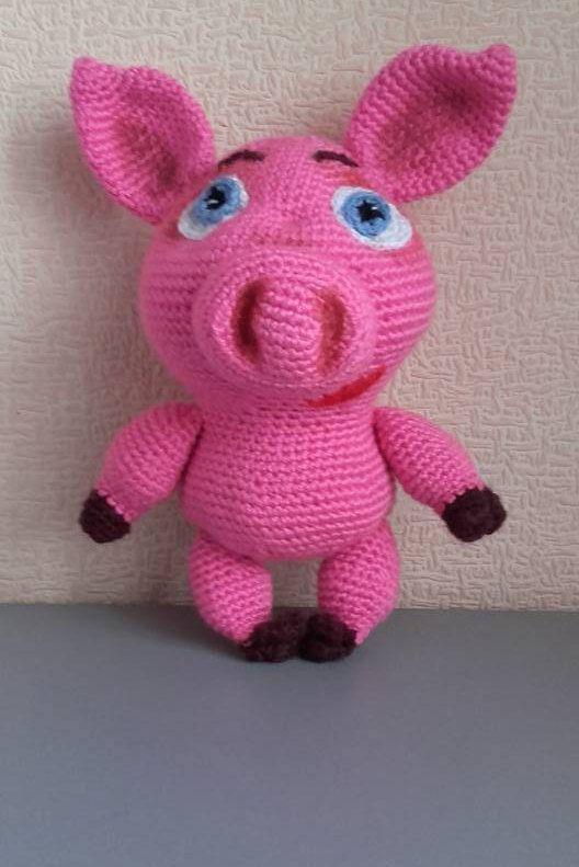 Crocheted Piglet How to Crochet Pattern Tutorial - Club Crochet   791x528