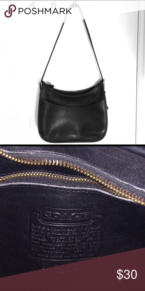 a91e1b1c31 Coach leather purse Black leather