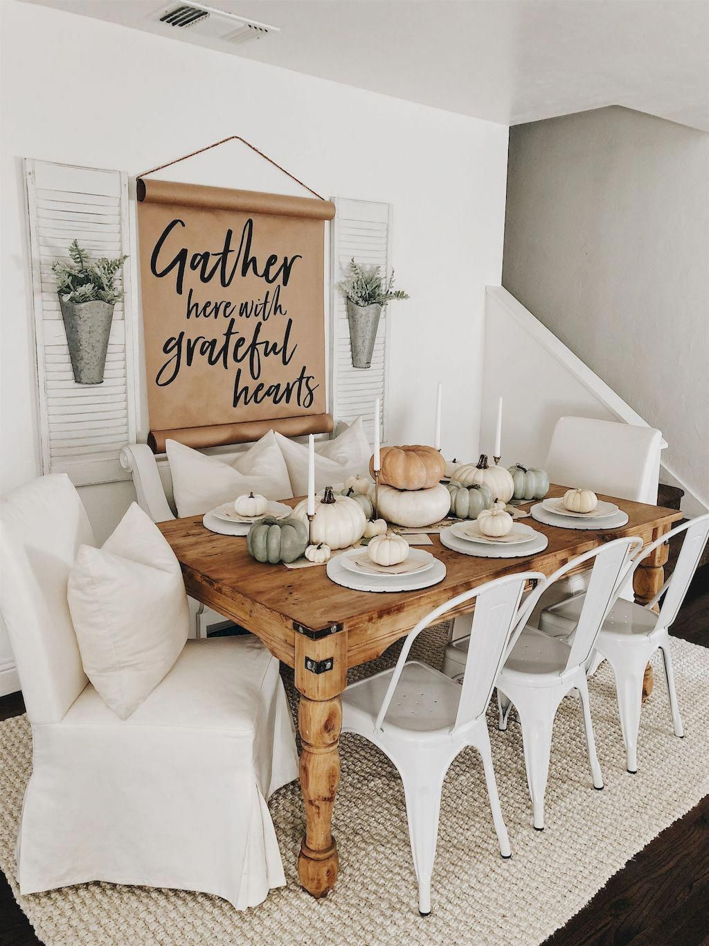 Feng Shui Is A Chinese Philosophical System Which Dictates Rules On Farmhouse Style Dining Room Farmhouse Dining Rooms Decor Modern Farmhouse Dining Room Decor