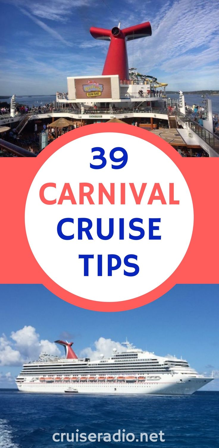 39 Carnival Cruise Tips