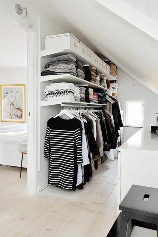 ankleidezimmer gestalten begehbarer kleiderschrank ...
