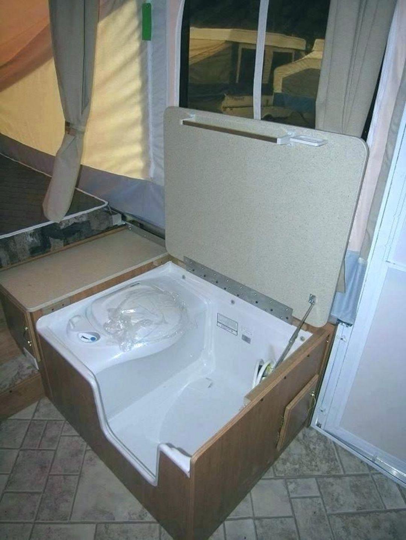 37 Amazing Rv Camper Bathroom Ideas For Enjoyable Outdoor Life