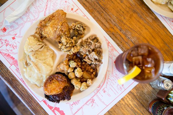 From fried chicken at Red's Little Schoolhouse to smothered chicken at Mrs. B's…