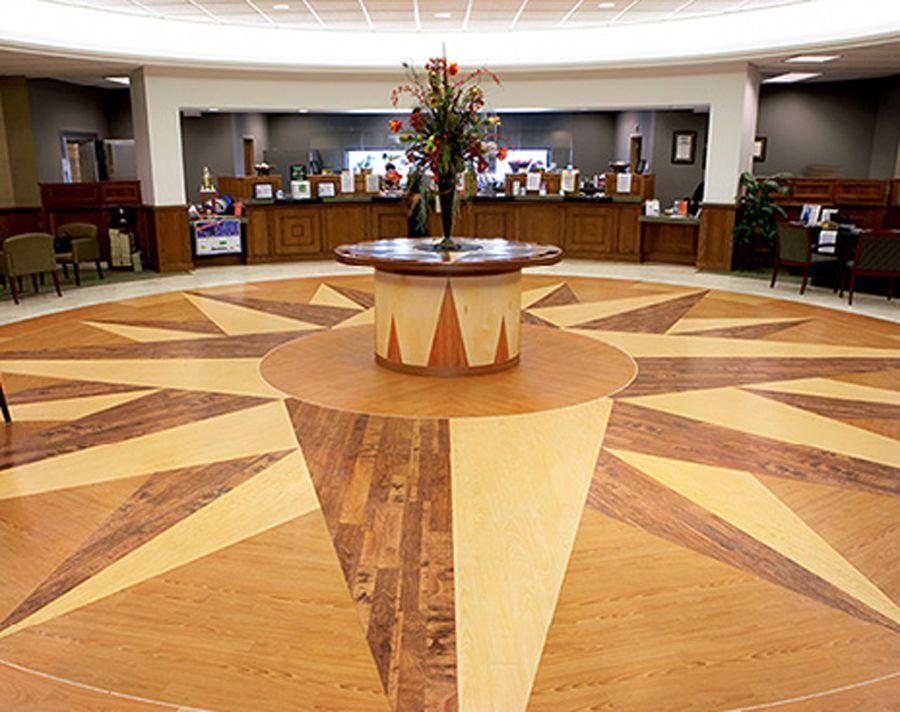 Luxury Vinyl Floor Design For Corporate Interior Flooring Decorating
