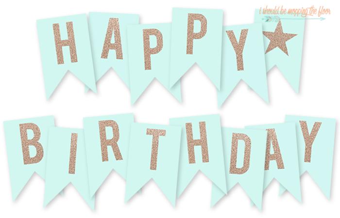 Free Printable Happy Birthday Banner Birthday Banner Free Printable Happy Birthday Banner Printable Free Happy Birthday Banner Printable