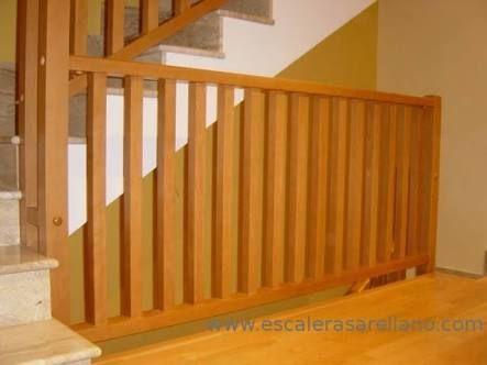 Resultado de imagen para barandales de tablas de madera - Barandales de escaleras ...