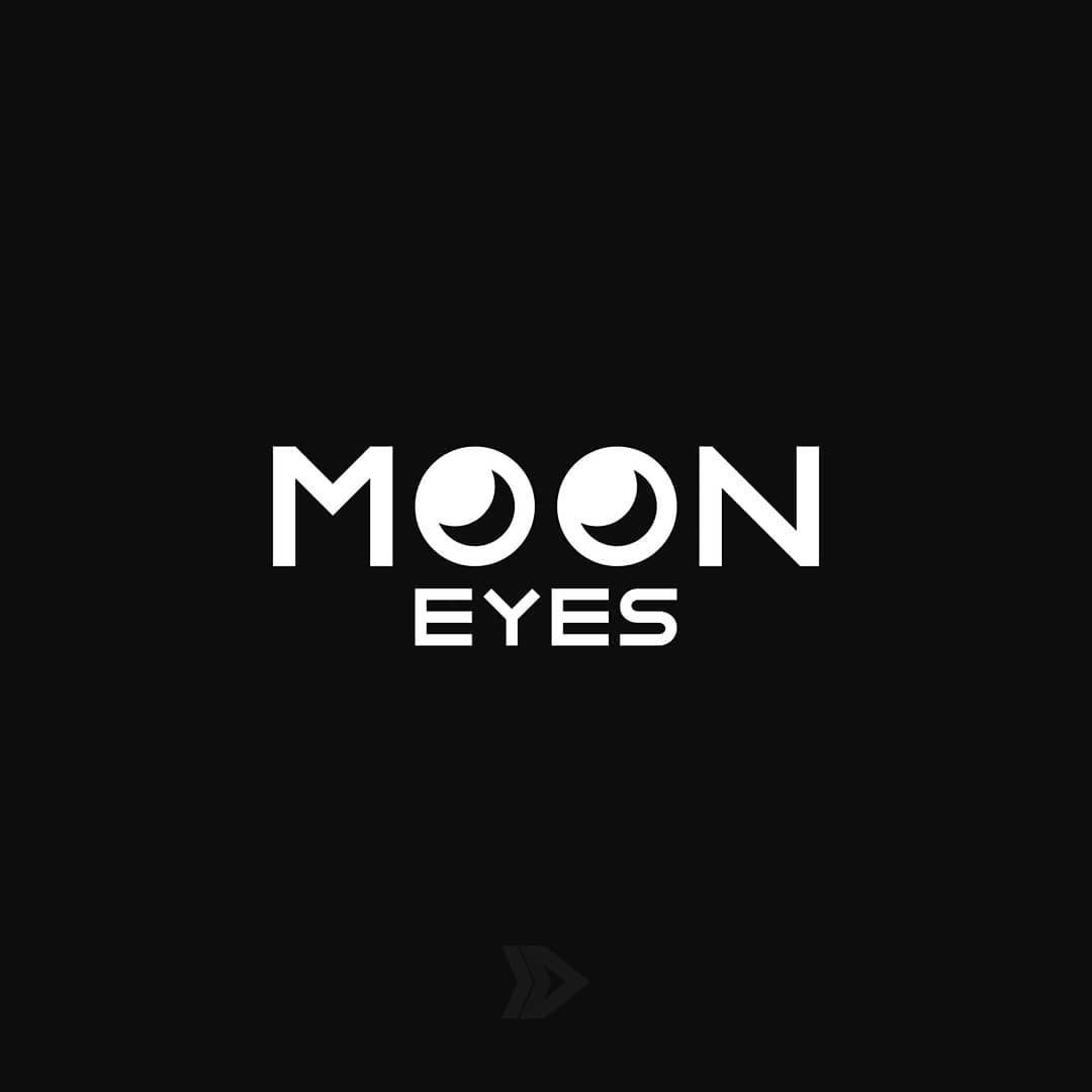 Moon Eyes Moon Eyes Mooneyes Logo Logos Brand Branding Icon Dribbble Dribbblers Inkscape Negativespace Logos Typography Branding