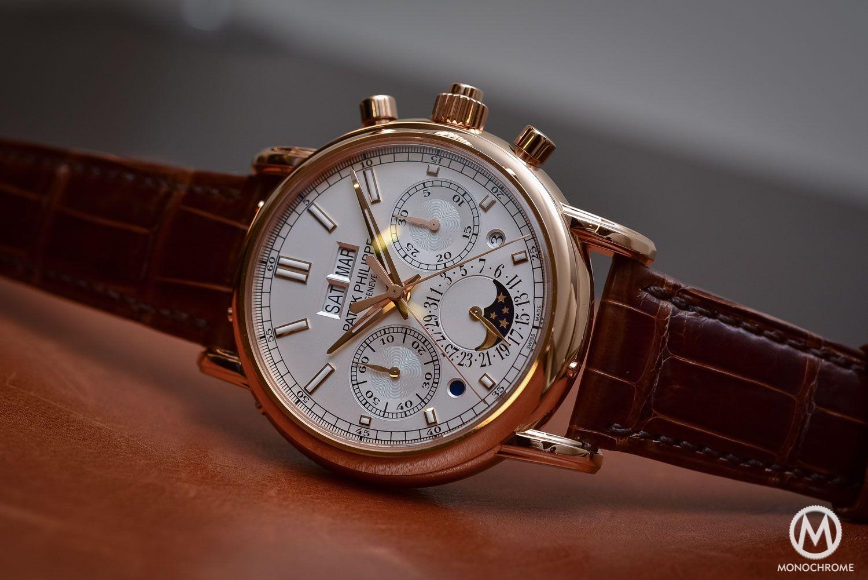 Hands-on - Patek Philippe 5204R Split-Seconds Chronograph Perpetual Calendar - Baselworld 2016 (live pics & price) - Monochrome Watches
