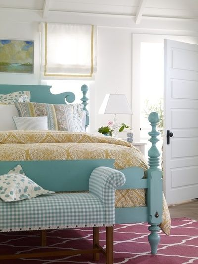 Have A Bed Like This Always Thought Of Painting It White But Now I
