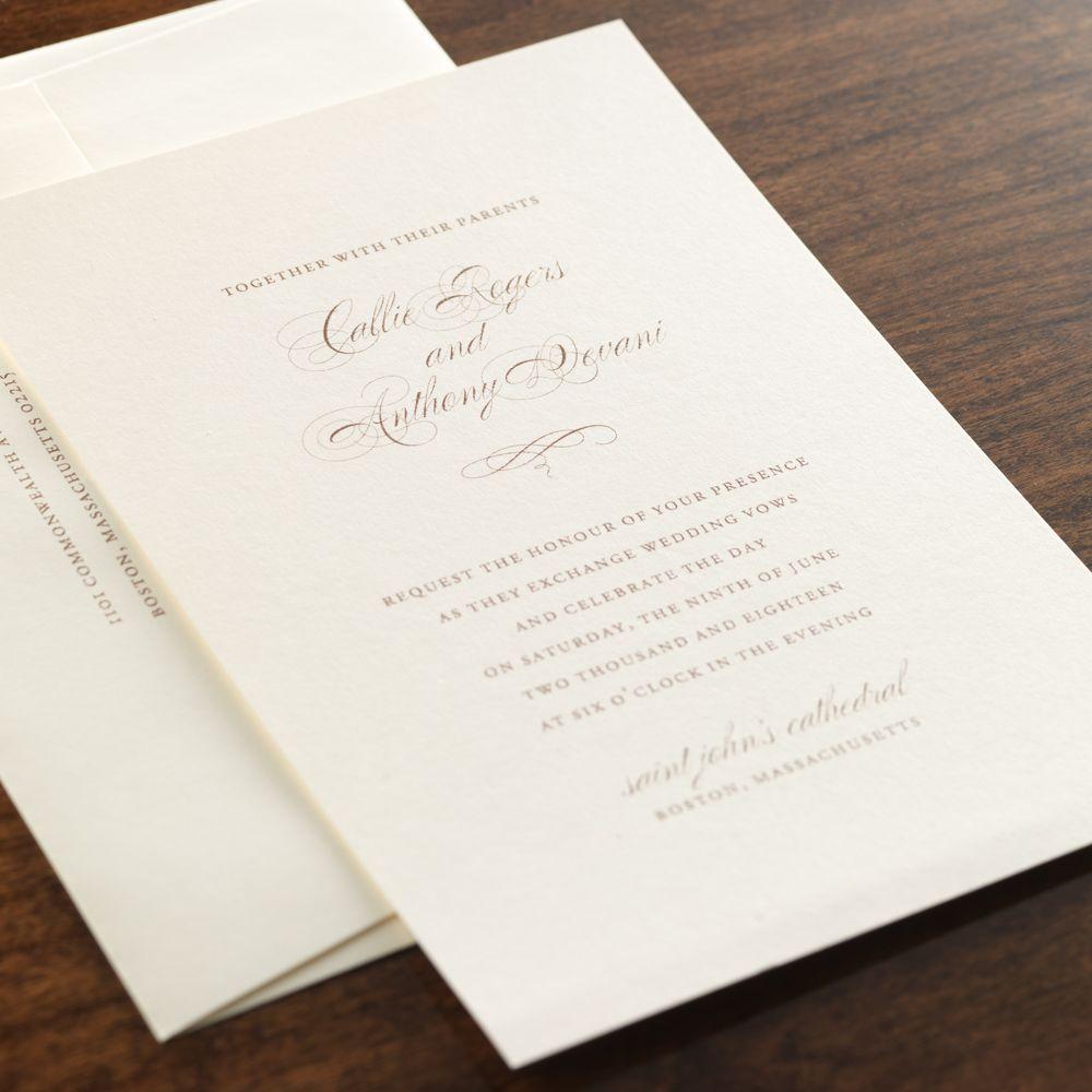 Heritage Wedding Invitation By Checkerboard Ltd Timeless Wedding