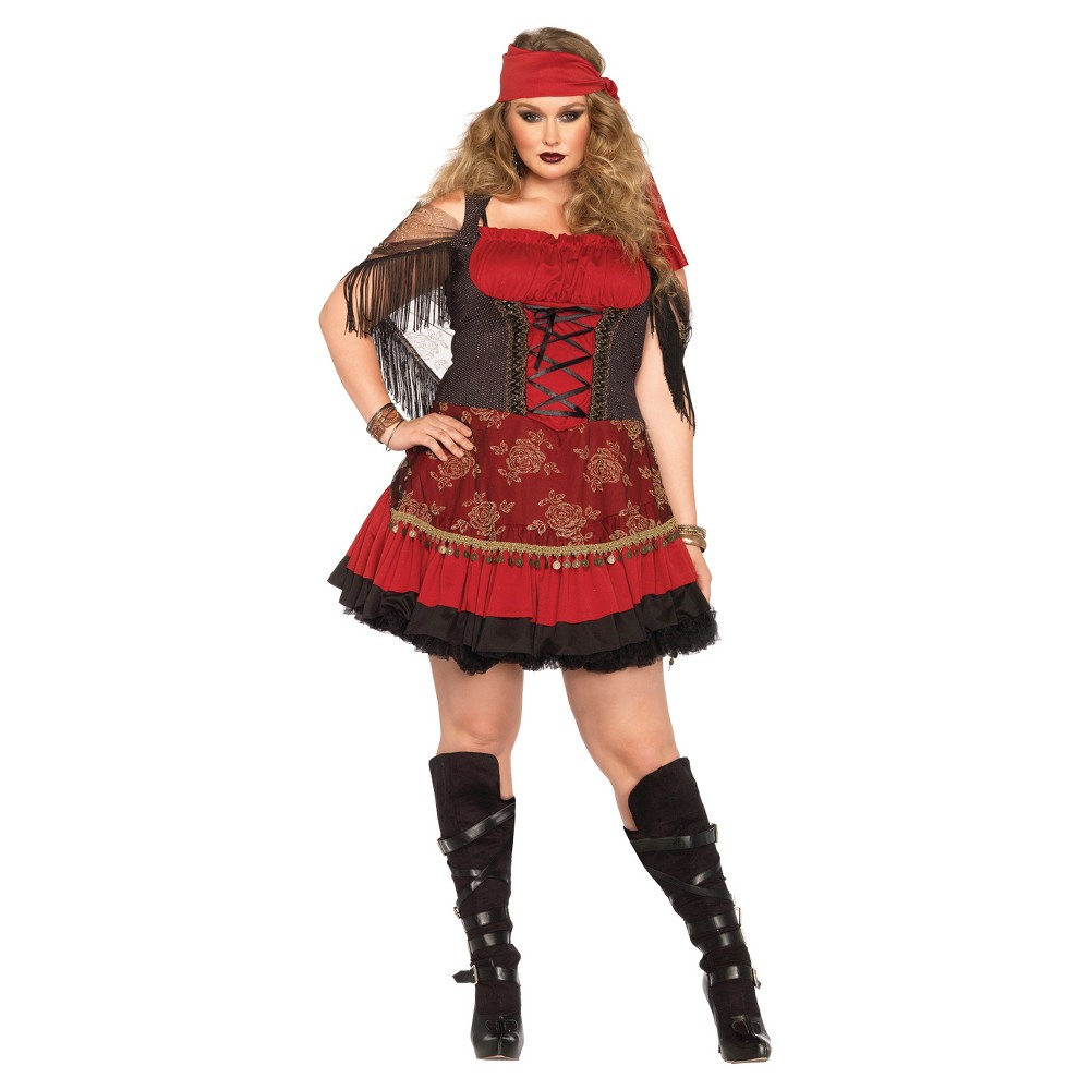 Mystic Vixen 2pc Costume - Xxl, Red