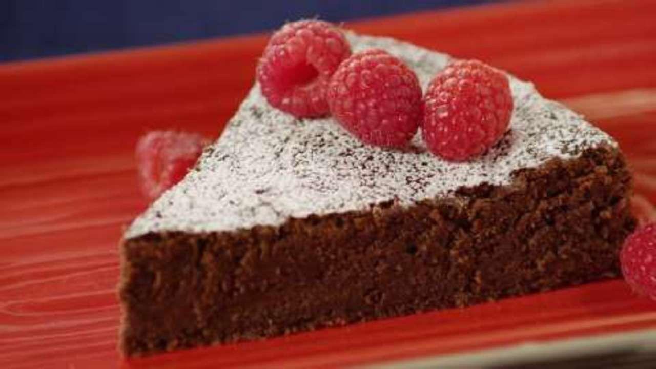 Garbanzo bean chocolate cake gluten free homemade
