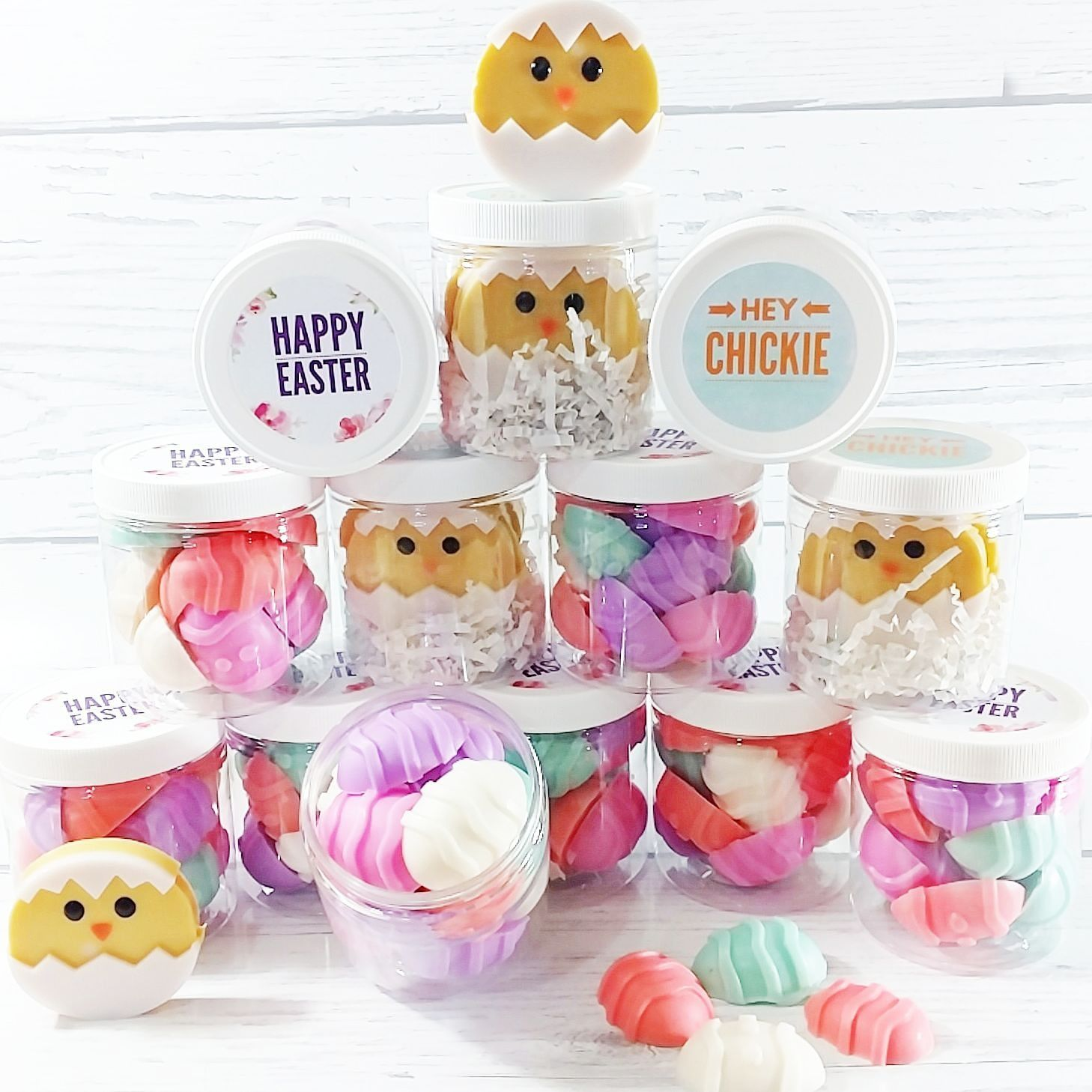 Easter easter gift soap easter basket stuffers kids gift gift we made these adorable soap gift sets especially to put a smile on your face easter eggs and easter chicks bring on the cute and spring scents negle Image collections