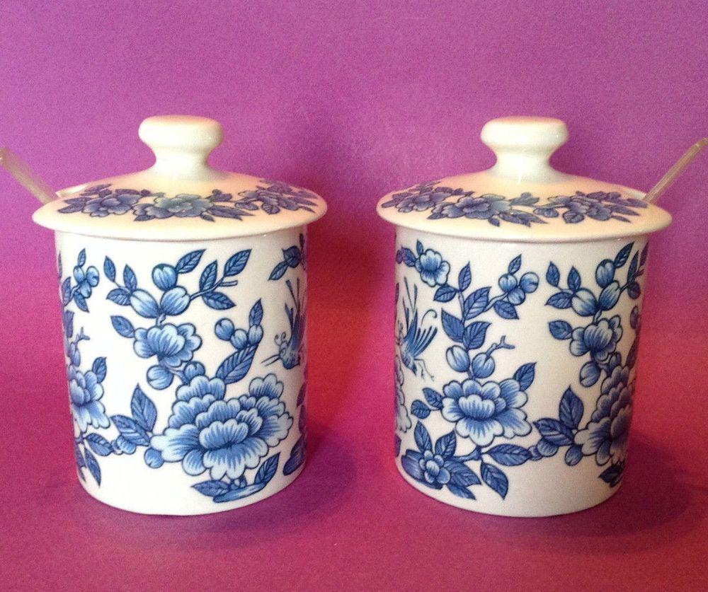 JamesKent #Porcelain Covered #Jars - #OldFoley #Imari #Blue And ...