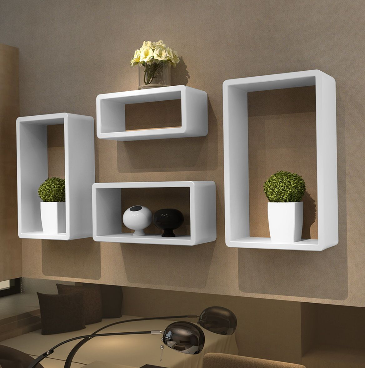 Wall mounted bookshelves ikea wall box shelf gembredeg for House shelves designs