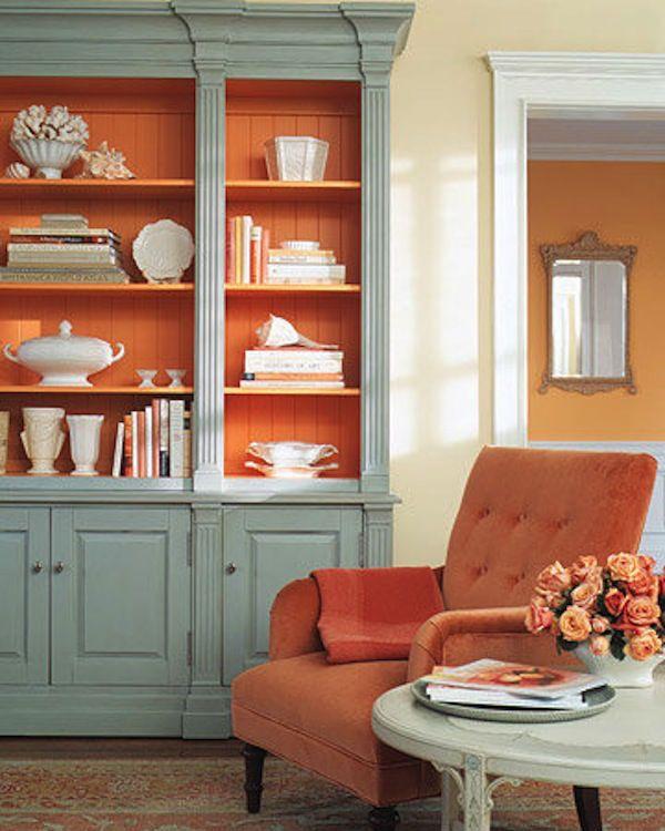 Color Coordinated Creamylife Blog Sweet Home Orange