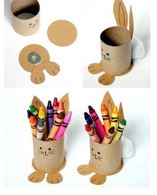 Crafts With Paper Towel Rolls For Preschoolers: Paper Roll Crafts For Preschoolers